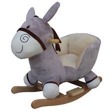 Schaukelpferd Esel Rocker Donkey BabyGo ab 6 Monate Schaukelesel