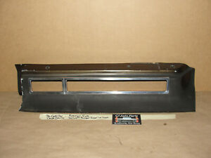 OEM 76 Cadillac Deville RIGHT SIDE TAIL LIGHT REAR BUMPER FILLER PANEL WITH TRIM