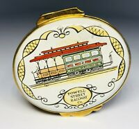 Crummles & Co English Enamels Powell Street Railway San Francisco Trinket Box