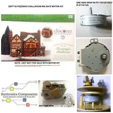 DEPT 56 Fezziwig's Ballroom-model:56.58470- REPLACEMENT MOTOR -PARTS KIT 120volt