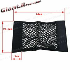 Apply to Car Back Seat Black Storage Net Trunk Cargo Bag Holder Smart Phone Pad