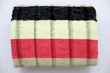 Indian Rectangular Creatively Hand Woven Chindi Rag Rug Floor Carpet Tribal Mat