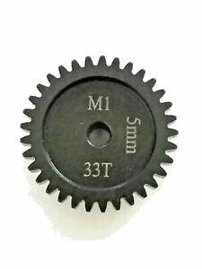 33T 5MM MOD-1 SAGA PINION GEAR *HARDENED STEEL* xlx/xl2/arrma/hobao/serpent/losi