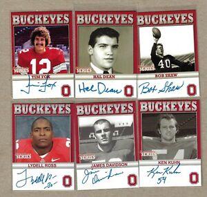 TK Legacy Ohio State Six Card Lot #1