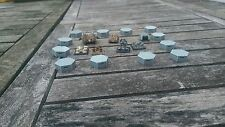*SCENERY* 12 6mm scale bunkers. Ideal for Epic, Dystopian Wars + any 6mm game