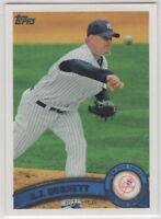 2011 Topps Baseball New York Yankees Team Set