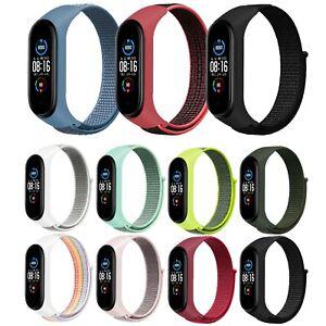 Ersatz Armband für Xiaomi Mi Band 3 & 4 Nylon Fitness Sport Tracker