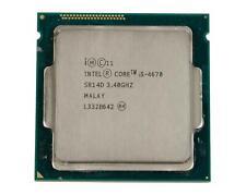 Intel Core i5-4670 Processor @ 3.40GHz 6MB Cache Quad SR14D Socket LGA1150 CPU