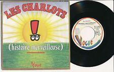 """LES CHARLOTS 45 TOURS 7"""" FRANCE HISTOIRE MERVEILLEUSE"""