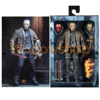 "NECA Freddy vs Jason Friday the 13th 7"" Ultimate Action Figure Collection New"