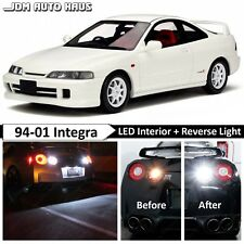 2x Bulbs White 1156 Reverse Backup Led Lights Fits Acura Integra 1994 2001