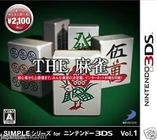 Simple series for3DS THE Mahjong NINTENDO 3DS JAPANESE  JAPANZON