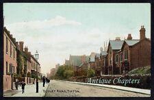 1917 Dudley Road Tipton Staffordshire Chromo Postcard C352
