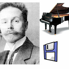 Scriabin Classical Solo Piano Collection for Pianodisc PDS128/228 on Floppy Disk