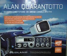 MIDLAND ALAN 48 NEW  - 40 canali  ricetrasmettitore CB   ultimo modello