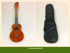Leaf  Professional Concert  Mahogany Ukelele w/10mm Blue Padded Bag L100
