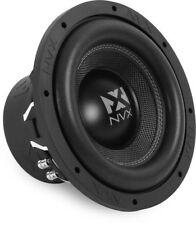 """NVX VCW102 750W RMS 10"""" VC Series Dual 2-ohm Car Subwoofer Car Audio Sub Woofer"""
