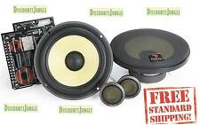 "FOCAL 165KR 6.5"" INCH 320W 2-WAY CAR AUDIO STEREO COMPONENT SPEAKER SYSTEM SET"