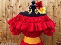 MEXICAN BLOUSE  FIESTA,5 DE MAYO OR WEDDING  ON/OFF SHOULDER SASH INCLUDED!