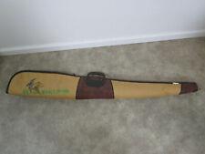 "Allen Vintage Zipper Tan ducks Padded Long Gun Soft Case Bag 50"" Rifle Shotgun"