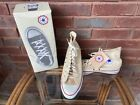 NEW Vintage Converse Chuck Taylor All Star White Hi Top Sz 10.5 Made In USA Box