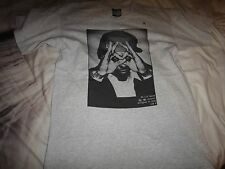 100% Cotton Grey HYPE MEANS NOTHING Lil Wayne t shirt size M RARE!!!