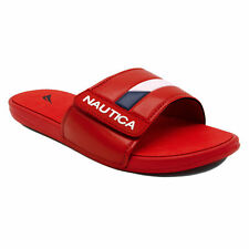 Nautica Bower 2 Slide Sandal In Red