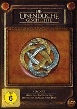 DIE UNENDLICHE GESCHICHTE Teil 1 2 3 4  Die Abenteuer gehen weiter 4 DVD Box Neu