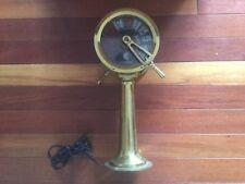 *NO RESERVE* Old Vintage Chadburns London Liverpool Brass Ship's Telegraph
