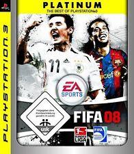 Fifa 08 2008 fútbol soccer para Sony PlayStation 3 ps3 nuevo/en el embalaje original/alemán/EA Sports