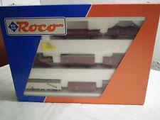 *TOP*Roco H0 44002 Güterwagen-Set der DB 8-teilig Neuwertig + OVP