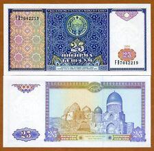Uzbekistan, 25 Sum,1994, P-77, UNC