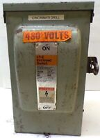 ITE ENCLOSED SWITCH, FR351, TYPE 3R, 30 AMPS, 600 VOLTS A.C., 3 PHASE
