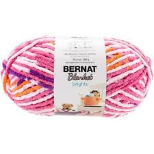 Bernat Blanket Brights Big Ball Yarn, Jump Rope, 10.5 Oz Ea, 100% Polyester