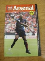 17/09/2002 Arsenal v Borussia Dortmund [Champions League] . Thanks for viewing o