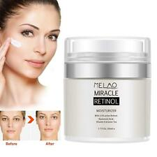 Retinol Moisturizer Face Cream With Vitamin a C E Anti Aging Reduces Wrinkles