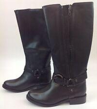 Redfoot Beatrix Knee-high Boots Black UK Size 3 EU 36 Twin Zip New & Box (G2)