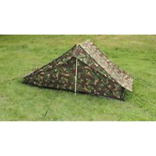 Woodland camouflage Einmannzelt Boden Army Tent Outdoor Camping One Person Tent