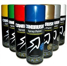 CANBRUSH Candy Foil Mirror Metallic Effect Spray Paint Auto DIY Colour Aerosol
