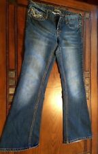 Womens Vanity Jeans Size 27W 31L USED VERY GOOD CONDITION