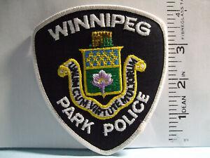 police patch   WINNIPEG PARK POLICE MANITOBA