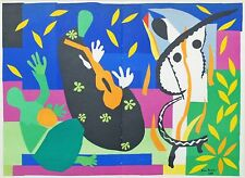 Original Henri Matisse (after) La Tristesse du Roi (The Sadness of the King)