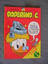 PAPERINO E C. #   2 - 12 luglio 1981 - WALT DISNEY - OTTIMO