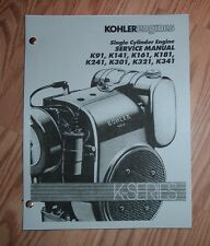 ECONOMY / POWER KING K SERIES ENGINE SERVICE  MANUAL