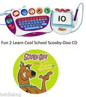 Fisher Price Fun 2 Learn Computer Cool School Software Scooby Doo Game CD