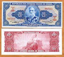 Brazil, 20 cruzeiros, ND (1963) Pick 168 (168b), UNC