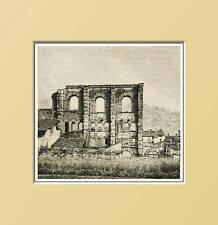 AOSTA. Avanzi del Teatro romano. In Passepartout 1889