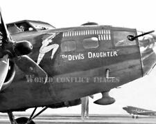 USAAF WW2 B-17 Bomber The Devil's Daughter 8x10 Nose Art Photo 95th BG WWII