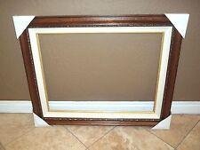 "THOMAS KINKADE FRAME 25 1/2"" X 34"" Brown Cream/White Liner CR Framing"