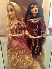Disney Store Designer Collection Rapunzel and Mother Gothel Limited Edition